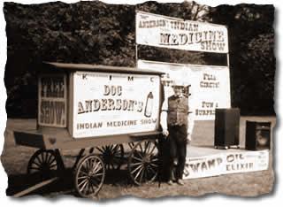 The Medicine Man -- still selling snake oil ??
